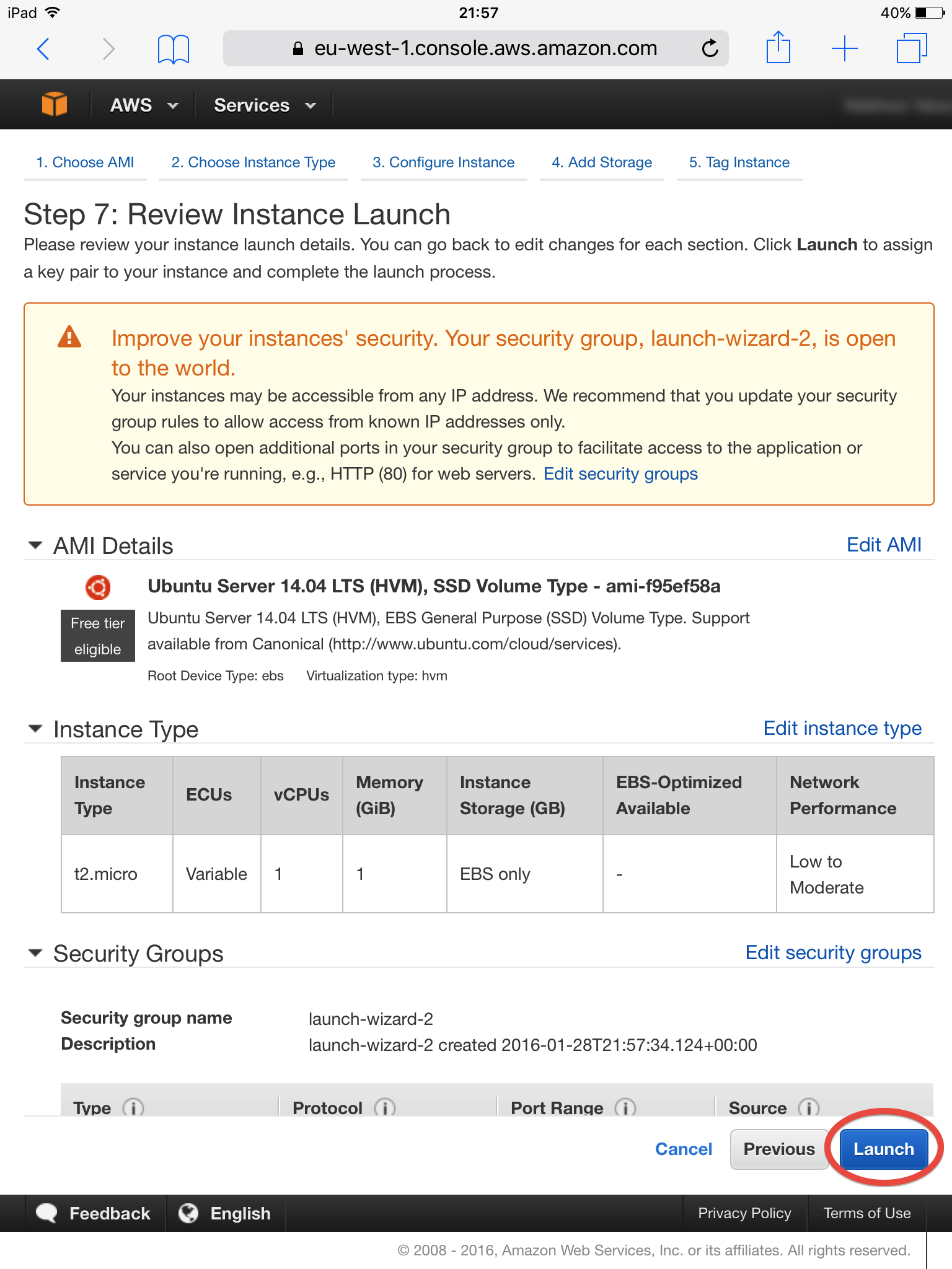 Review Instance